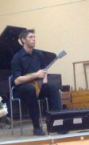 Сильный репетитор по игре на балалайке - преподаватель Дмитрий Валерьевич.